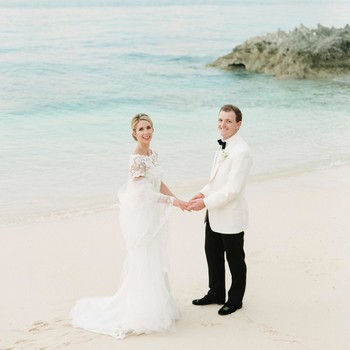 An Elegant Tropical Wedding in the Bahamas
