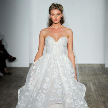 jlm blush by hayley paige wedding dress fall 2018 strapless sweetheart