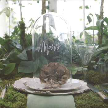 Take Your Seat: An Enchanting, Greenhouse-Inspired Tablescape