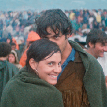 Judy and Jerry Griffin at Woodstock
