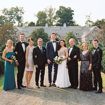 An Outdoor Wedding at Aunt Martha's