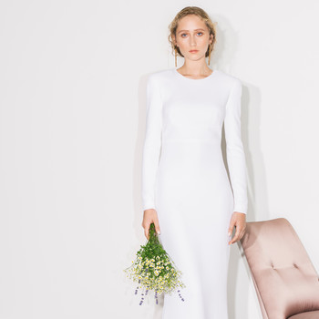 stella mccartney long sleeve wedding dress