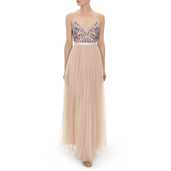 needle and thread whisper maxi dress