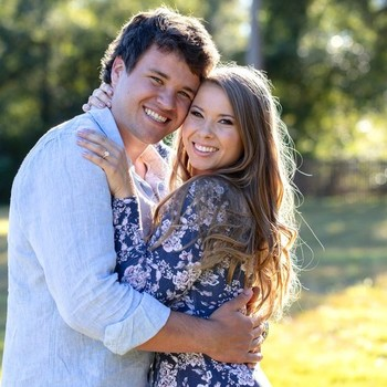 Bindi Irwin and Chandler Powell Engagement Announcement Photo