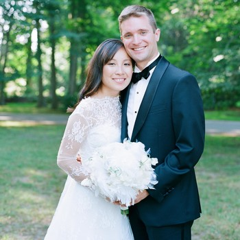 A Timeless New England Wedding at a Newport Mansion