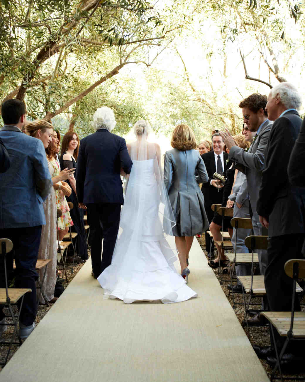 Bride S Father Died Before Her Wedding But Her Brother S: A Formal Wedding At Home In California