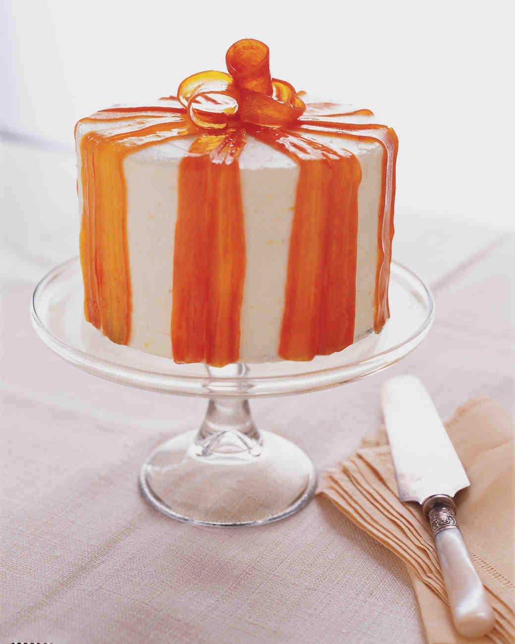 Ginger Carrot Cake Martha Stewart