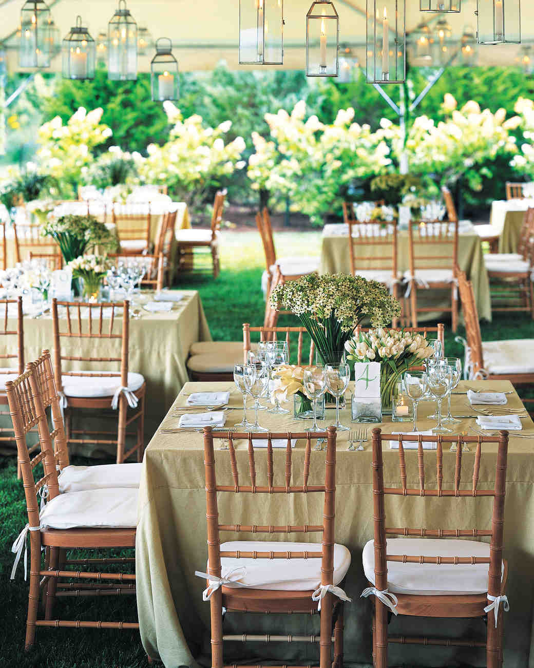 Real Weddings With Green Ideas Martha Stewart Weddings