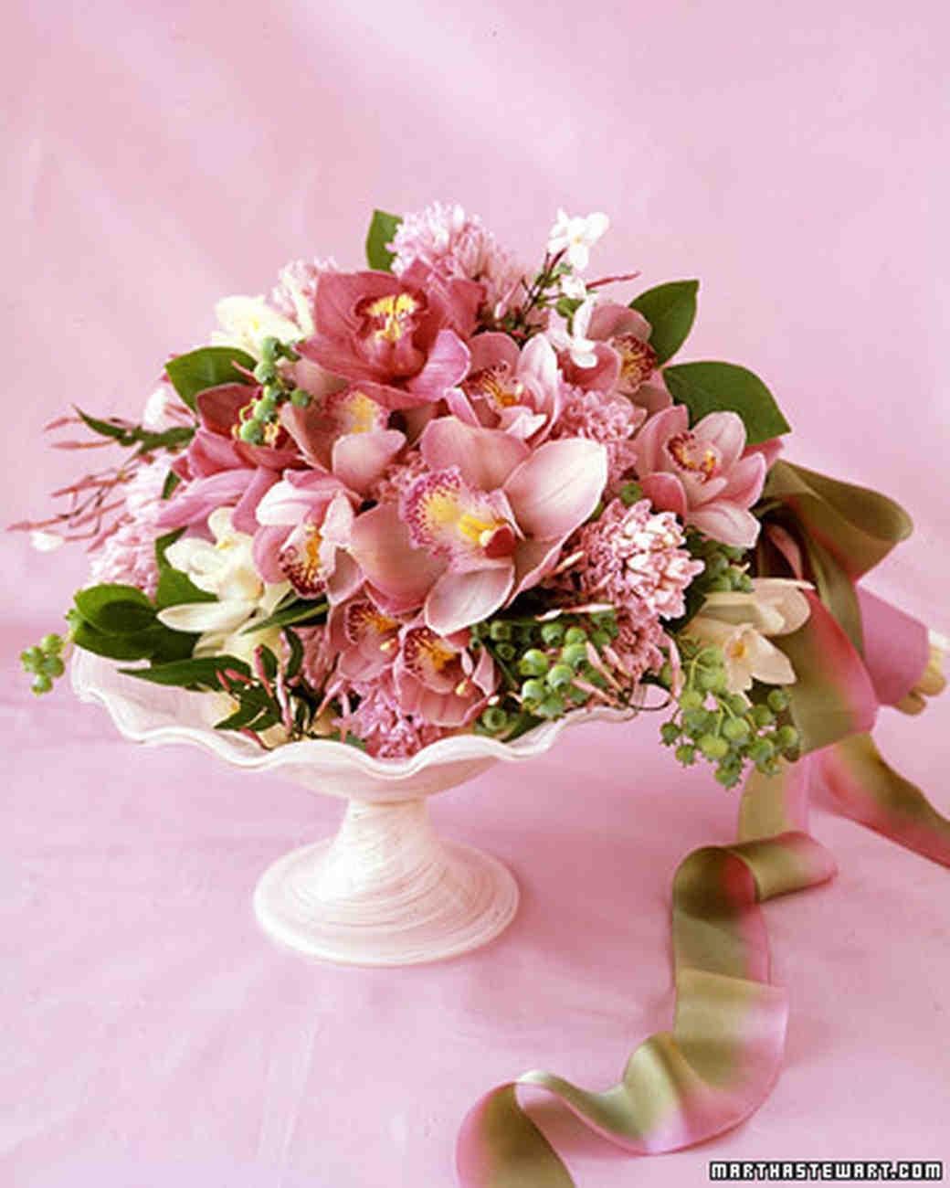 Orchid Flower Arrangements For Weddings: Martha Stewart Weddings