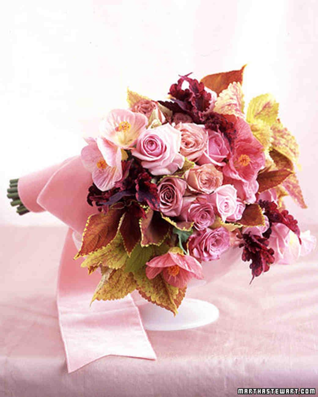 Pink Wedding Flowers | Martha Stewart Weddings