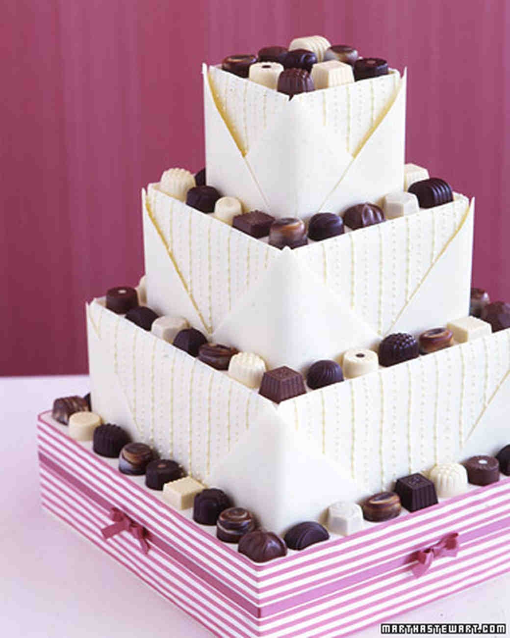 Wedding Cakes: Martha Stewart Weddings