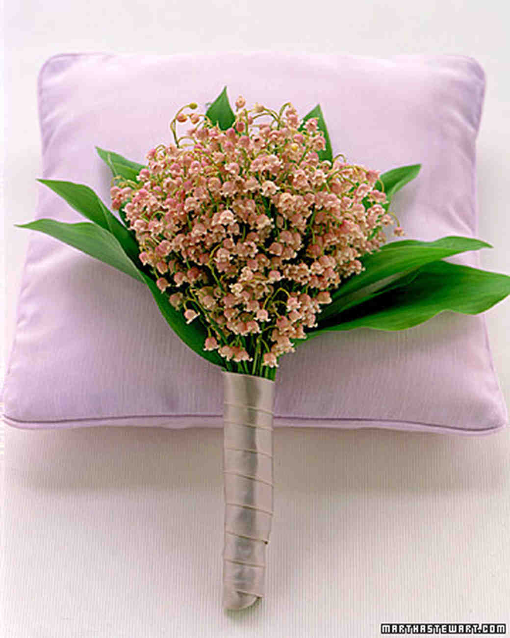 Lily Wedding Bouquets Martha Stewart Weddings