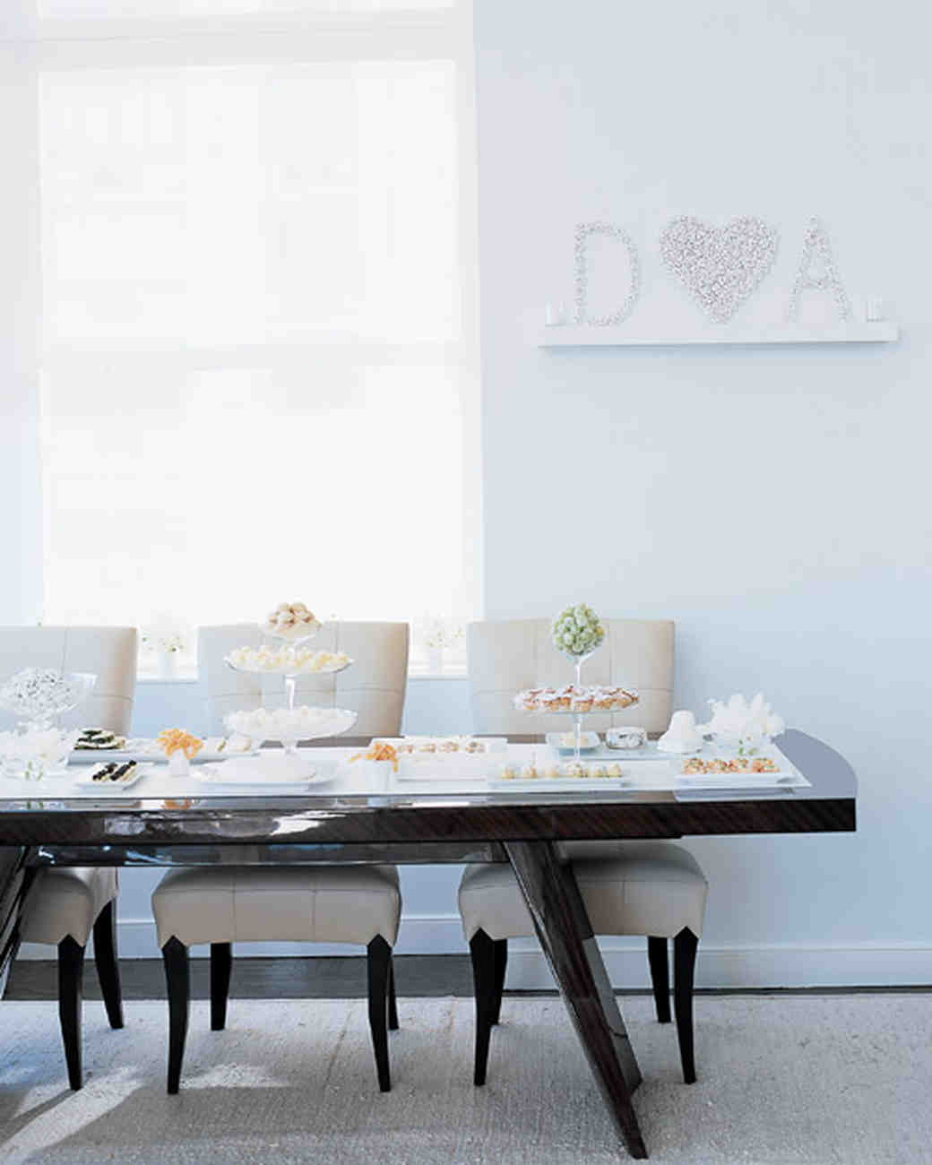 A Purely Beautiful All-White Bridal Shower for Darcy Miller | Martha ...
