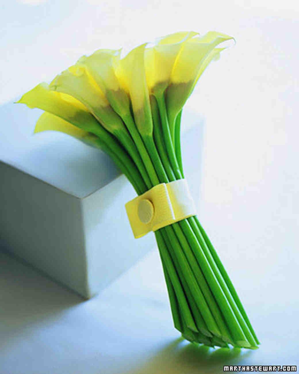 Lily Wedding Bouquets Martha Stewart Weddings
