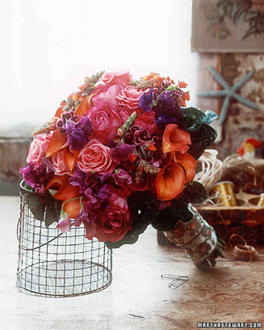 Bouquets with old world charm martha stewart weddings bouquet with opulent color izmirmasajfo