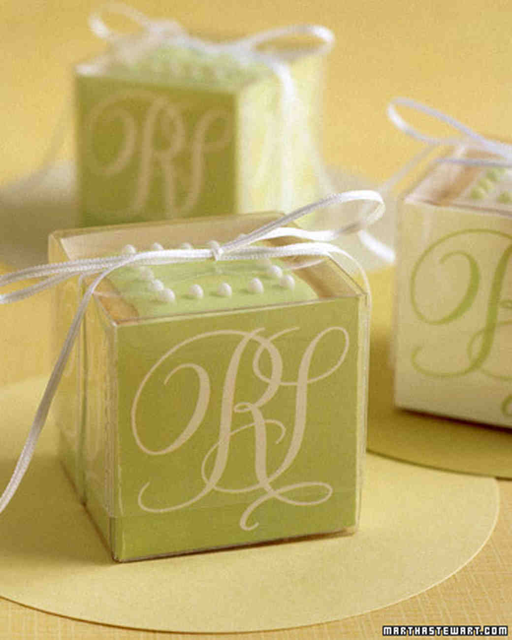 Green Wedding Decorations and Favors White Wedding