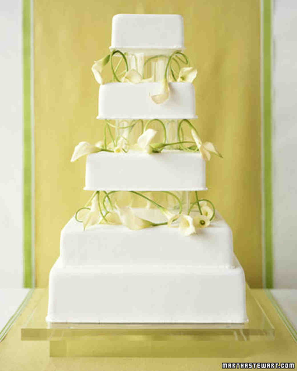 Green Wedding Cakes | Martha Stewart Weddings