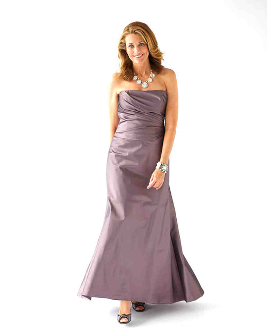 Strapless Long Gown