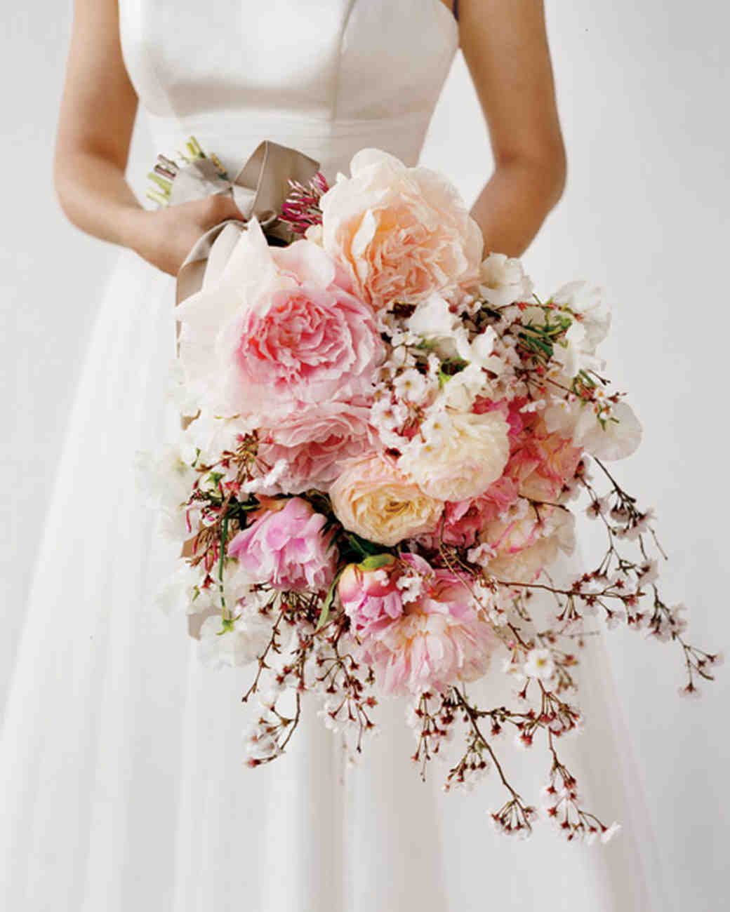Cherry blossom inspired wedding ideas martha stewart weddings bridal bouquet izmirmasajfo