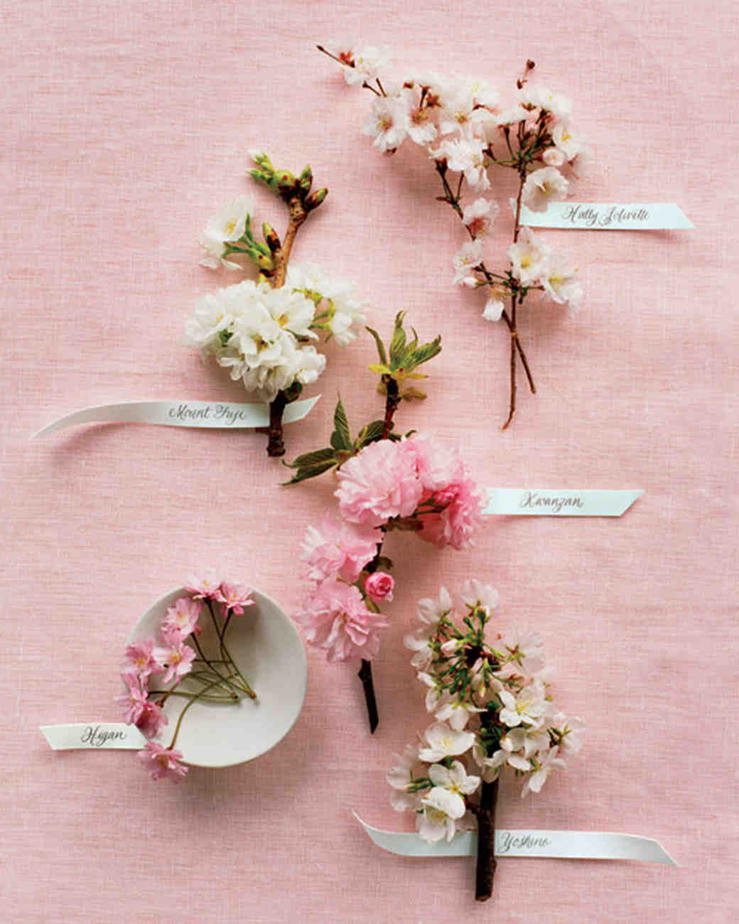 Cherry Blossom-Inspired Wedding Ideas | Martha Stewart Weddings