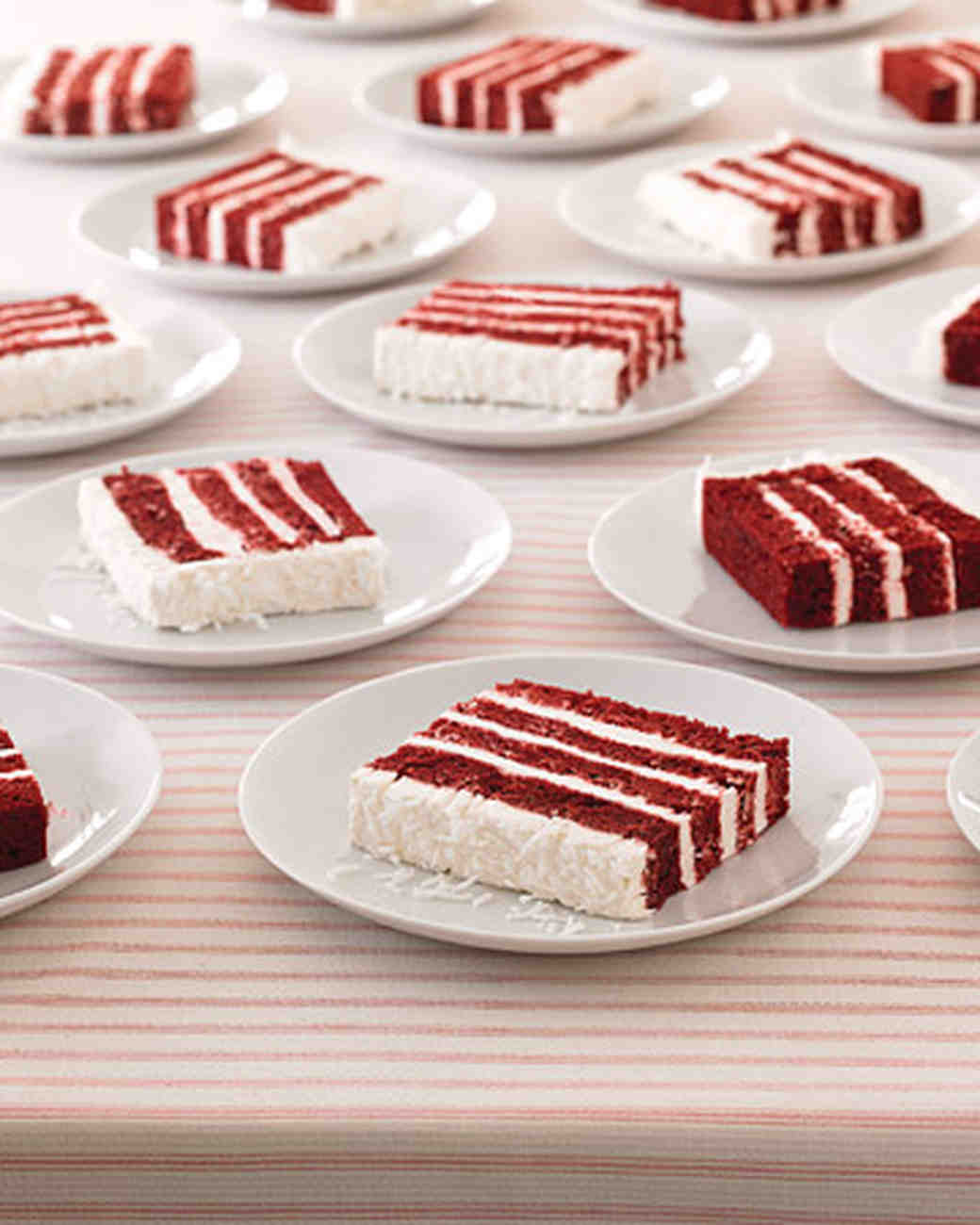 Coconut Red Velvet Cake