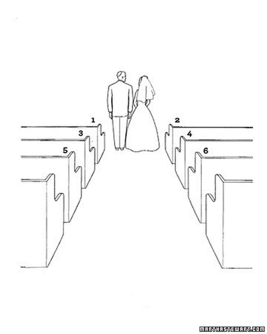 Diagram Your Big Day: Jewish Wedding Ceremony Basics | Martha ...