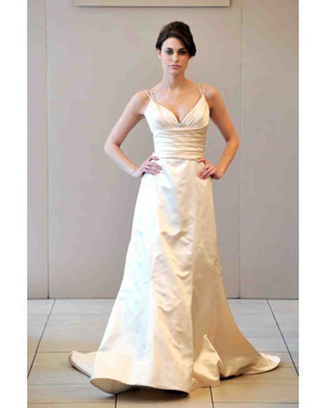 Trumpet Gowns T-Z, Fall 2008 Collections | Martha Stewart Weddings