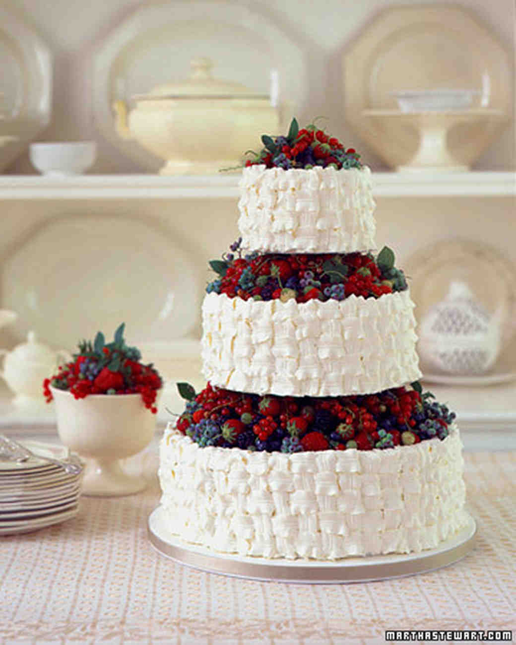 Very Berry Cakes and Confections | Martha Stewart Weddings