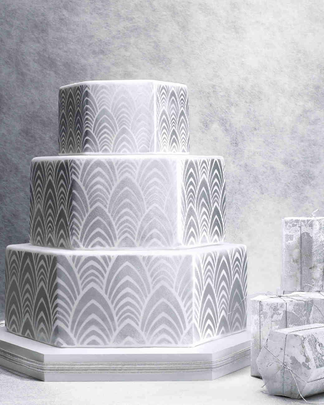8 Platinum Wedding Cakes Ideas | Martha Stewart Weddings