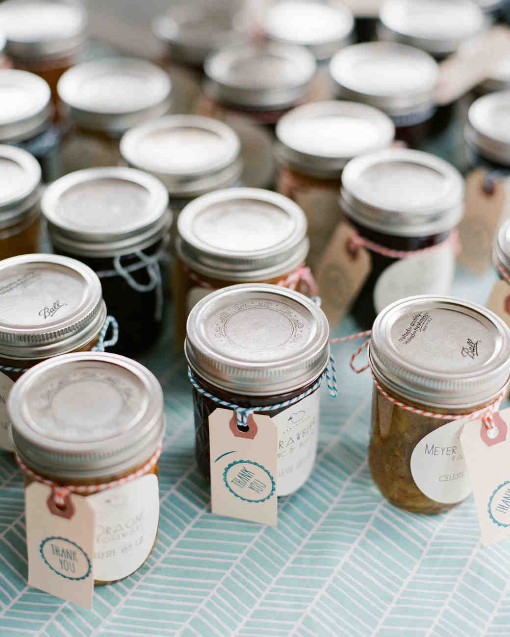 Custom Jars of Jam