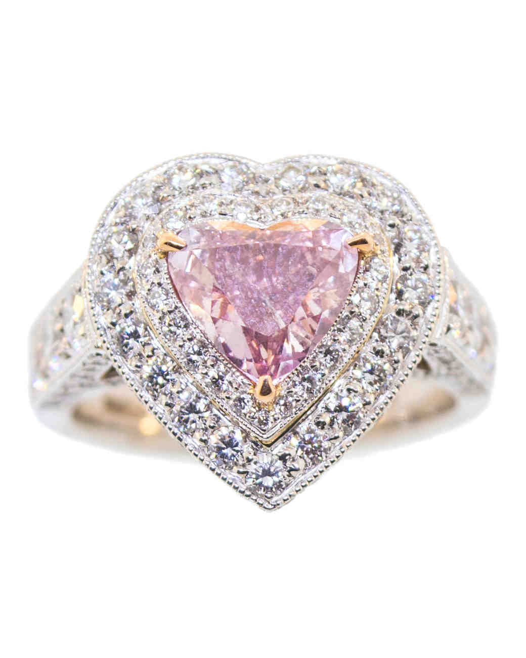 gallery pink wedding jewelry rings other google heart diamond search