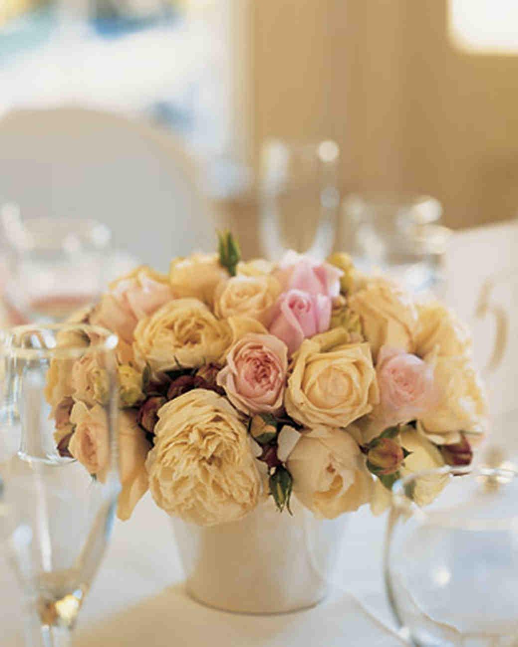 Floral Wedding Centerpieces Martha Stewart Weddings