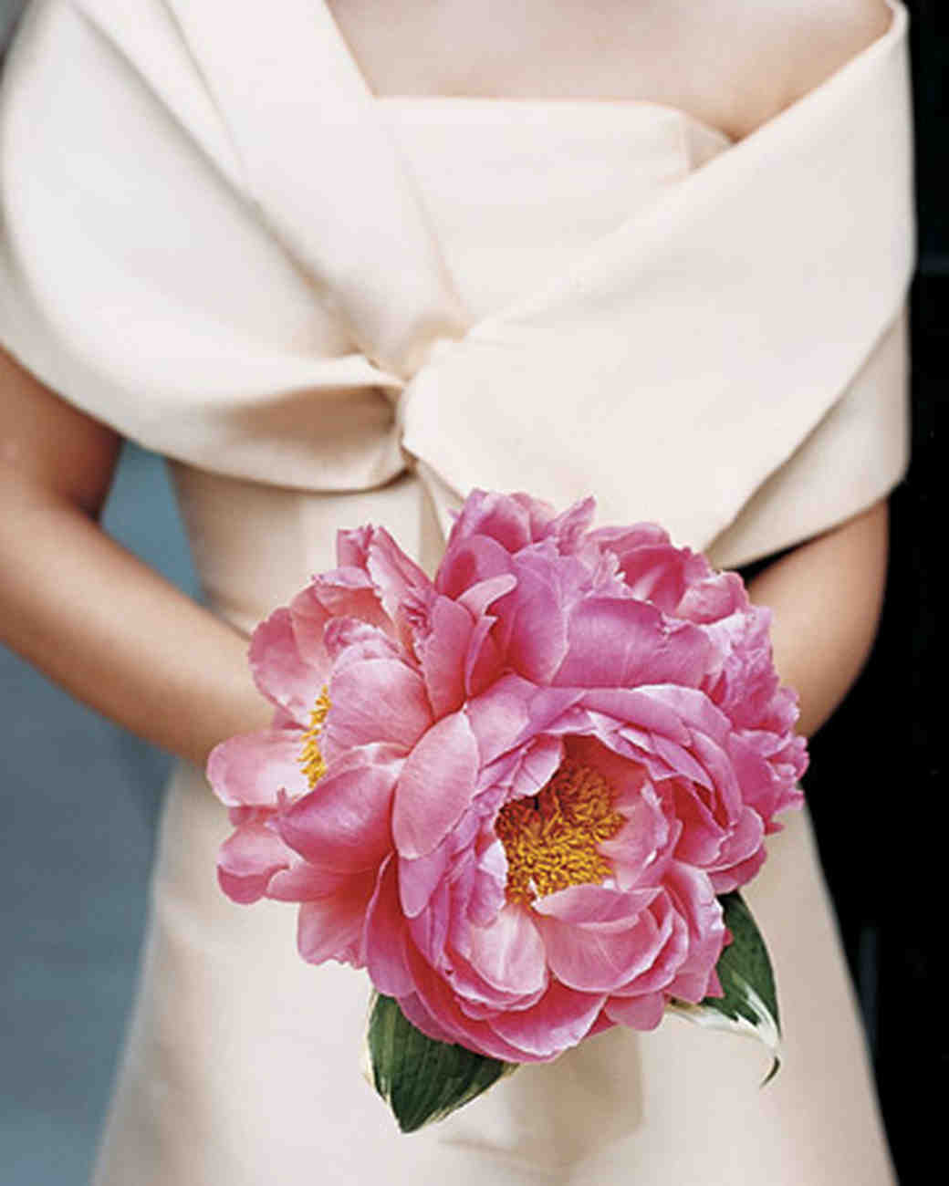 Bright Pink Wedding Bouquet