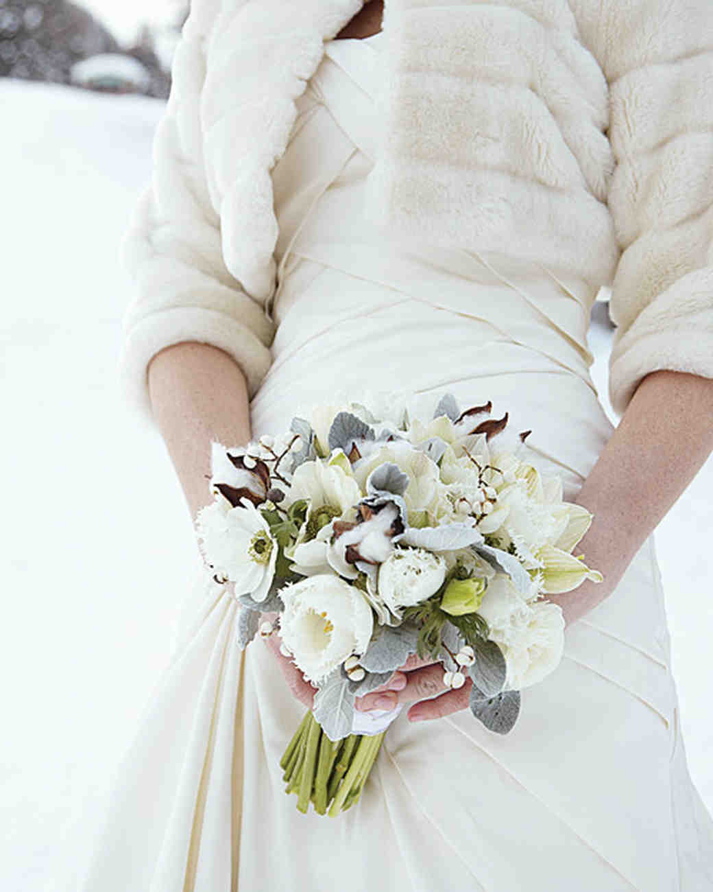 Winter Weddings: Martha Stewart Weddings