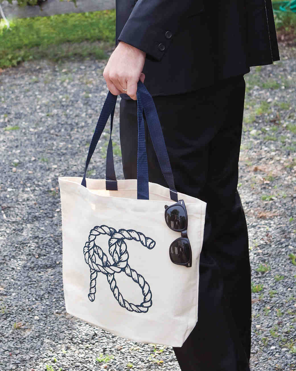 Tote with Rope Logo