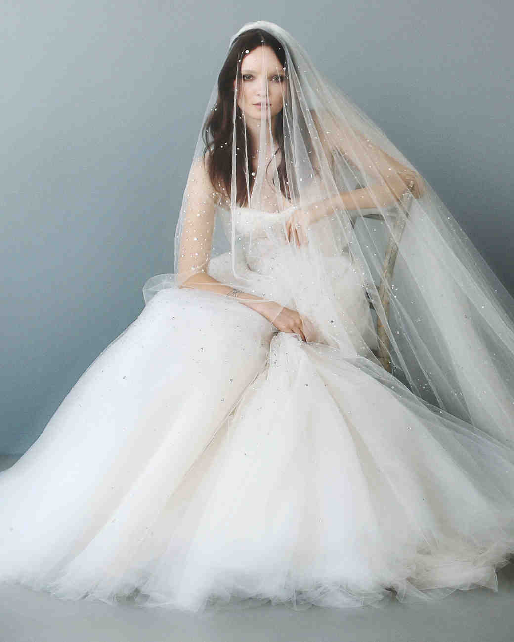 Gorgeous White Ivory Bride Wedding Dress Veils Two Layers ... |Beautiful Wedding Gowns With Veils