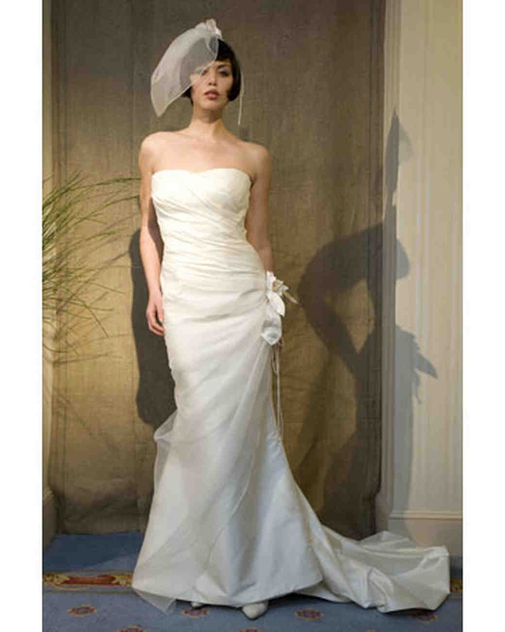Trumpet Gowns from A-G, Fall 2008 Collections | Martha Stewart Weddings