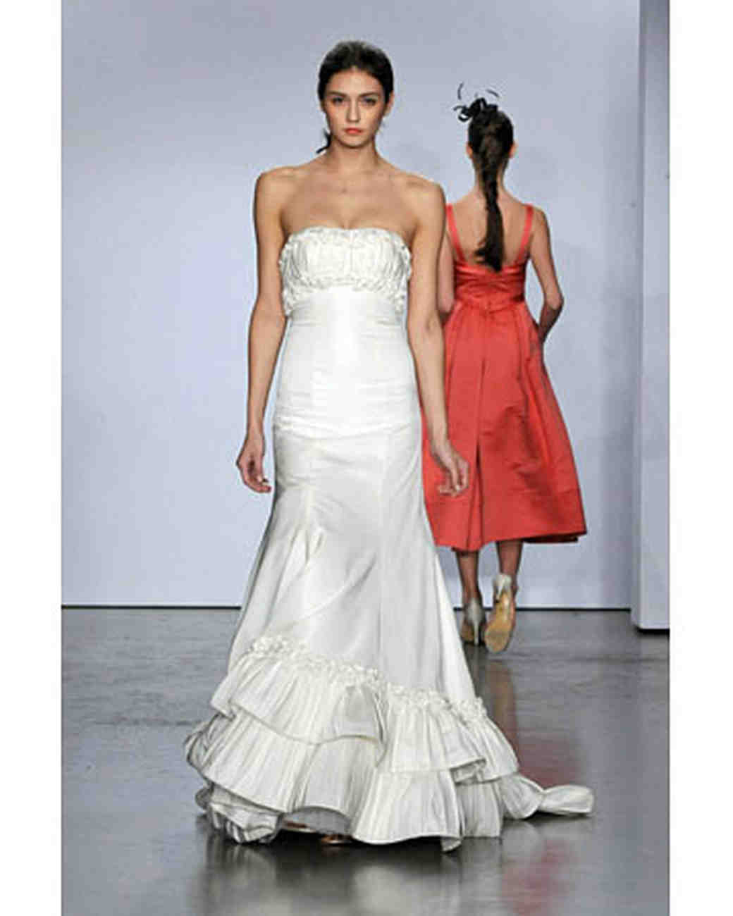 Priscilla of Boston, Fall 2008 Bridal Collection | Martha Stewart ...