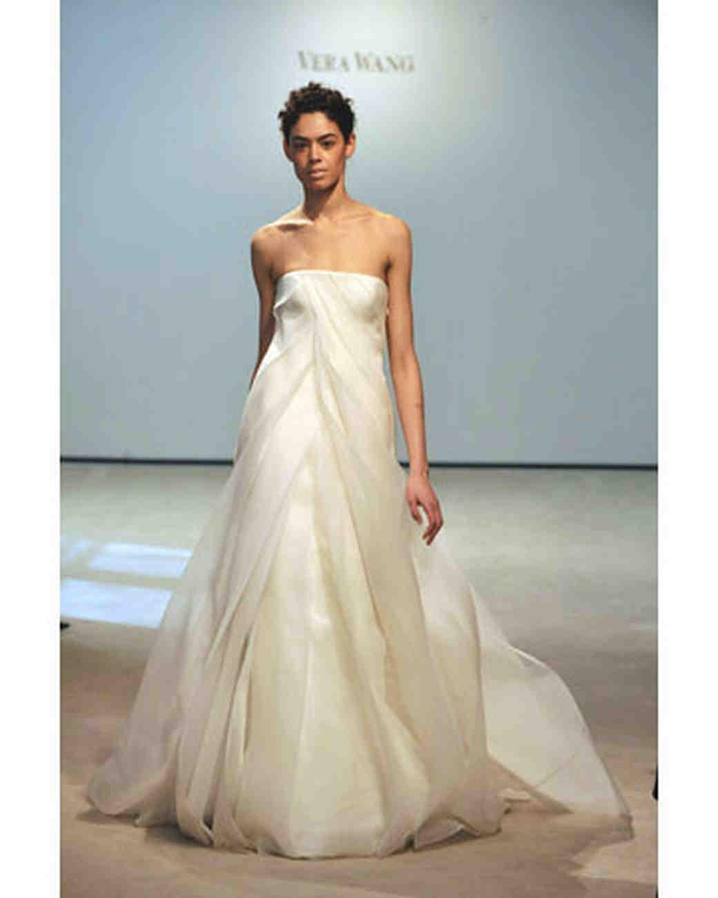 Vera Wang, Fall 2008 Bridal Collection | Martha Stewart Weddings