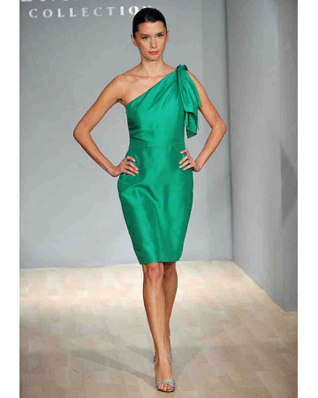 Blue and green bridesmaid dresses martha stewart weddings green asymmetrical dress ombrellifo Gallery