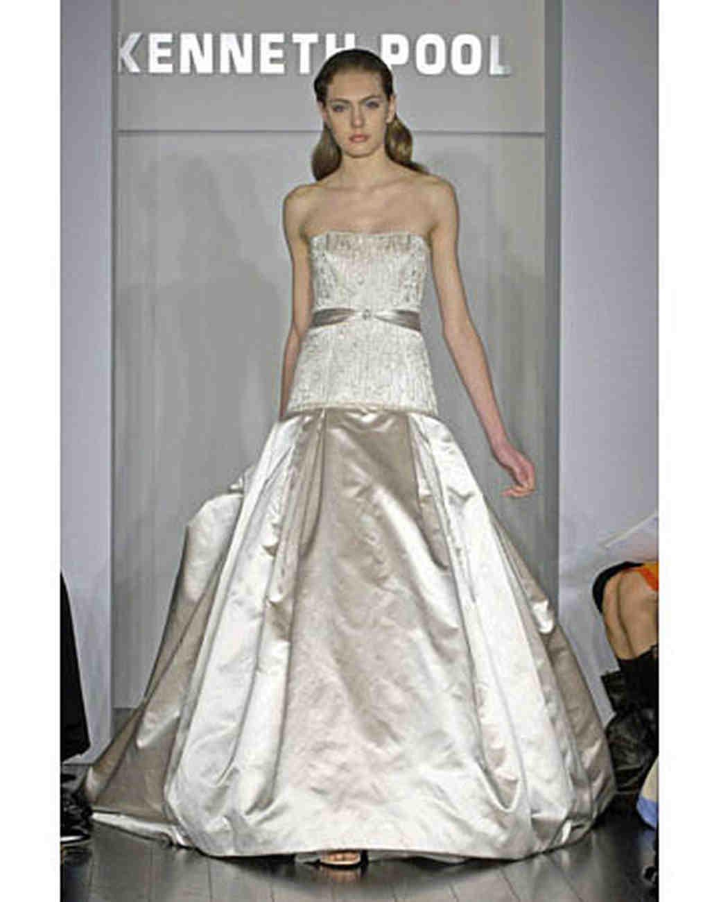 Kenneth Pool, Spring 2008 Bridal Collection | Martha Stewart Weddings