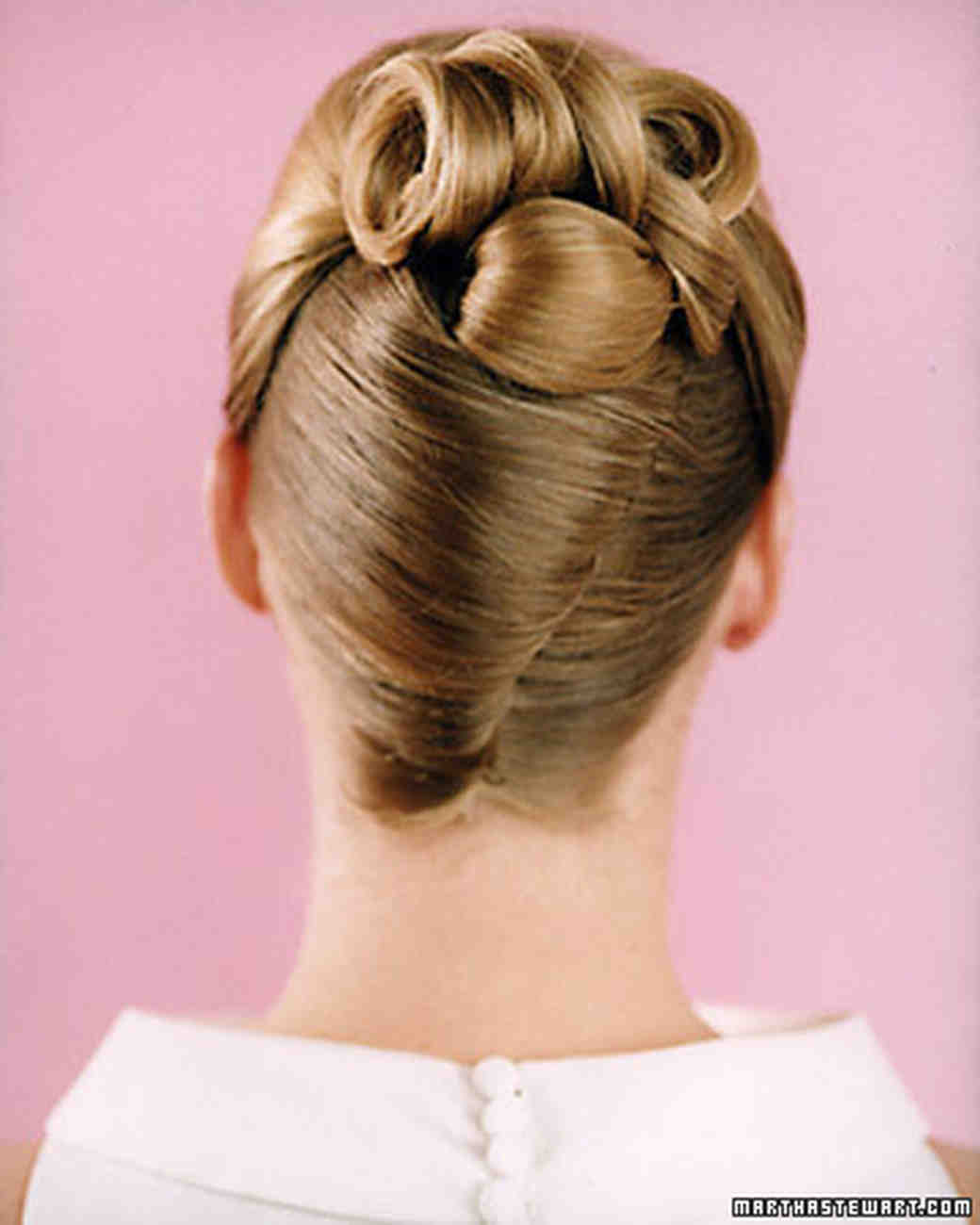 wedding hairstyles | martha stewart weddings