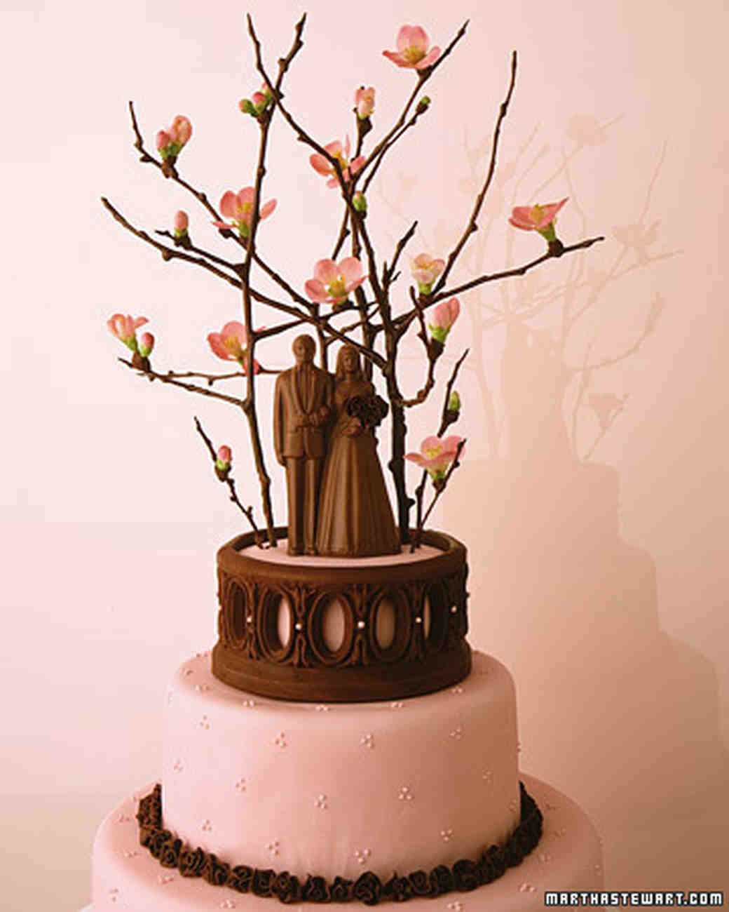 Pink And Brown Wedding Ideas: Twigs And Branches Wedding Ideas