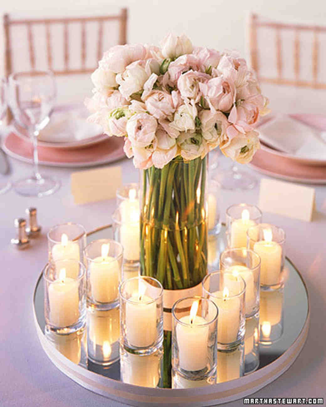 Classic wedding centerpieces martha stewart weddings junglespirit Images