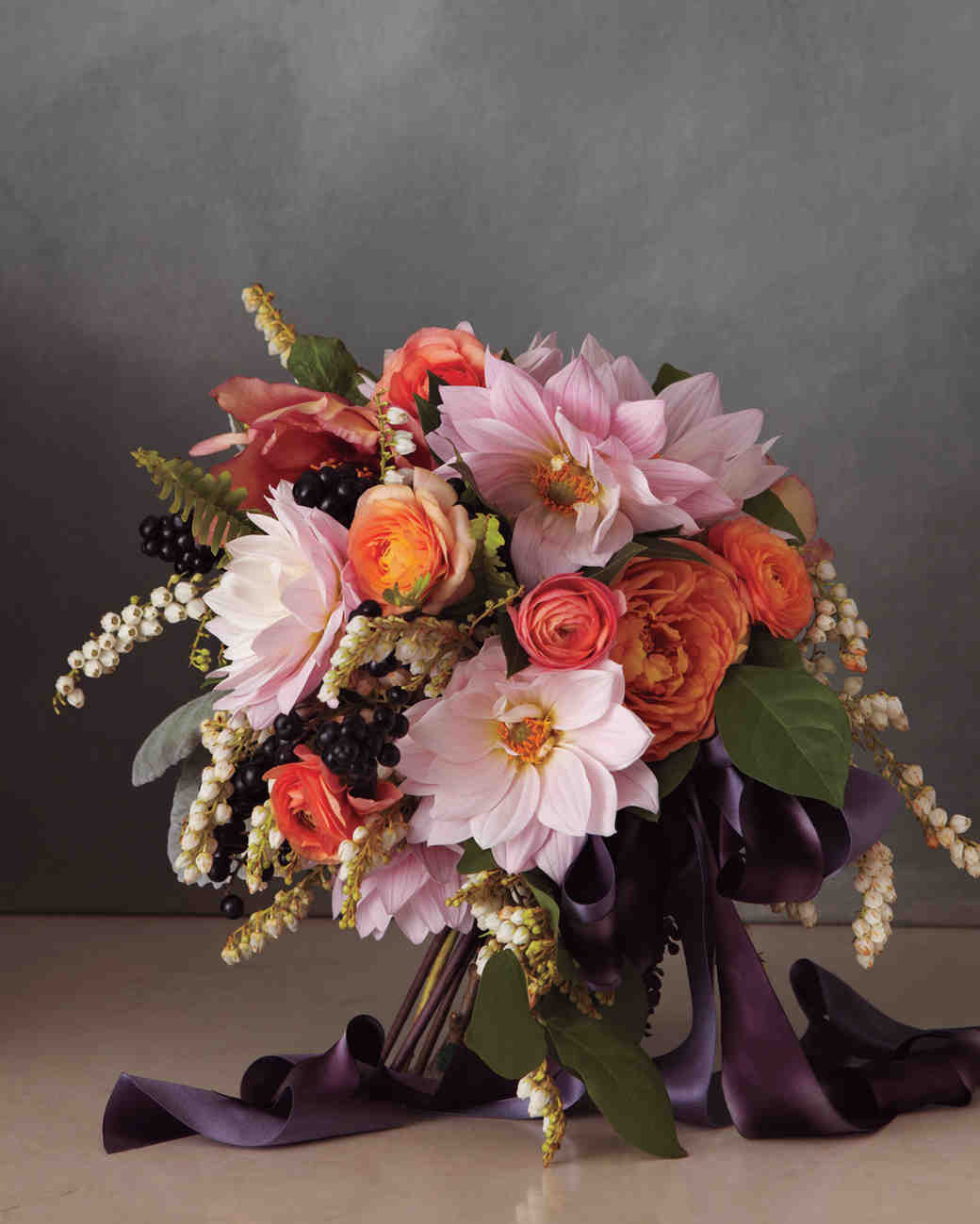 wedding flowers bouquets ideas pretty in pink wedding bouquet ideas martha stewart weddings 9545