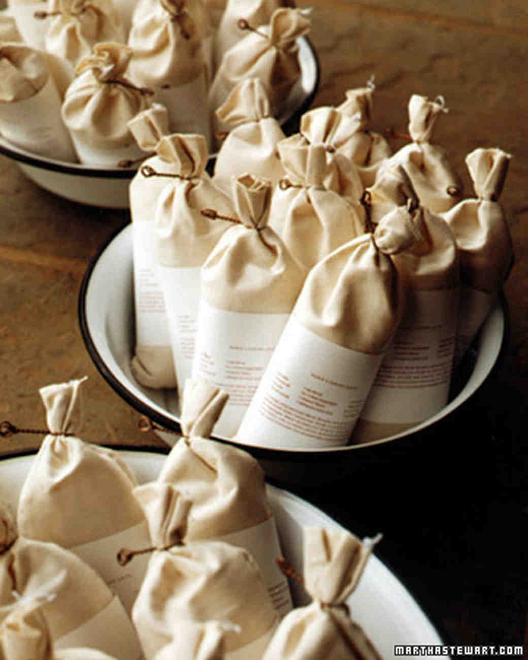 Good Things Wedding Favors