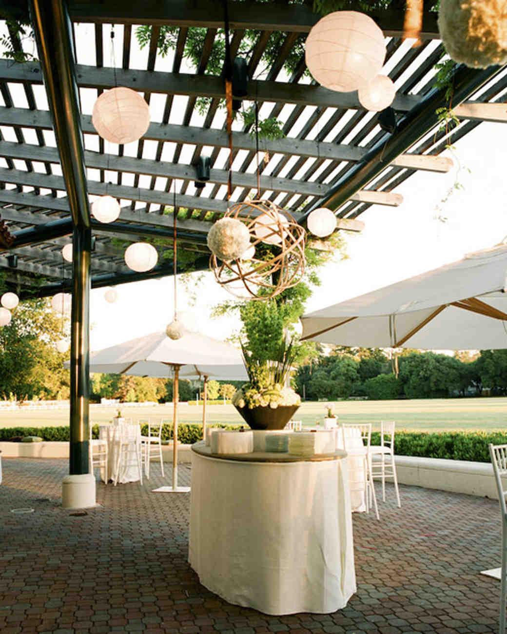 overhead lanterns