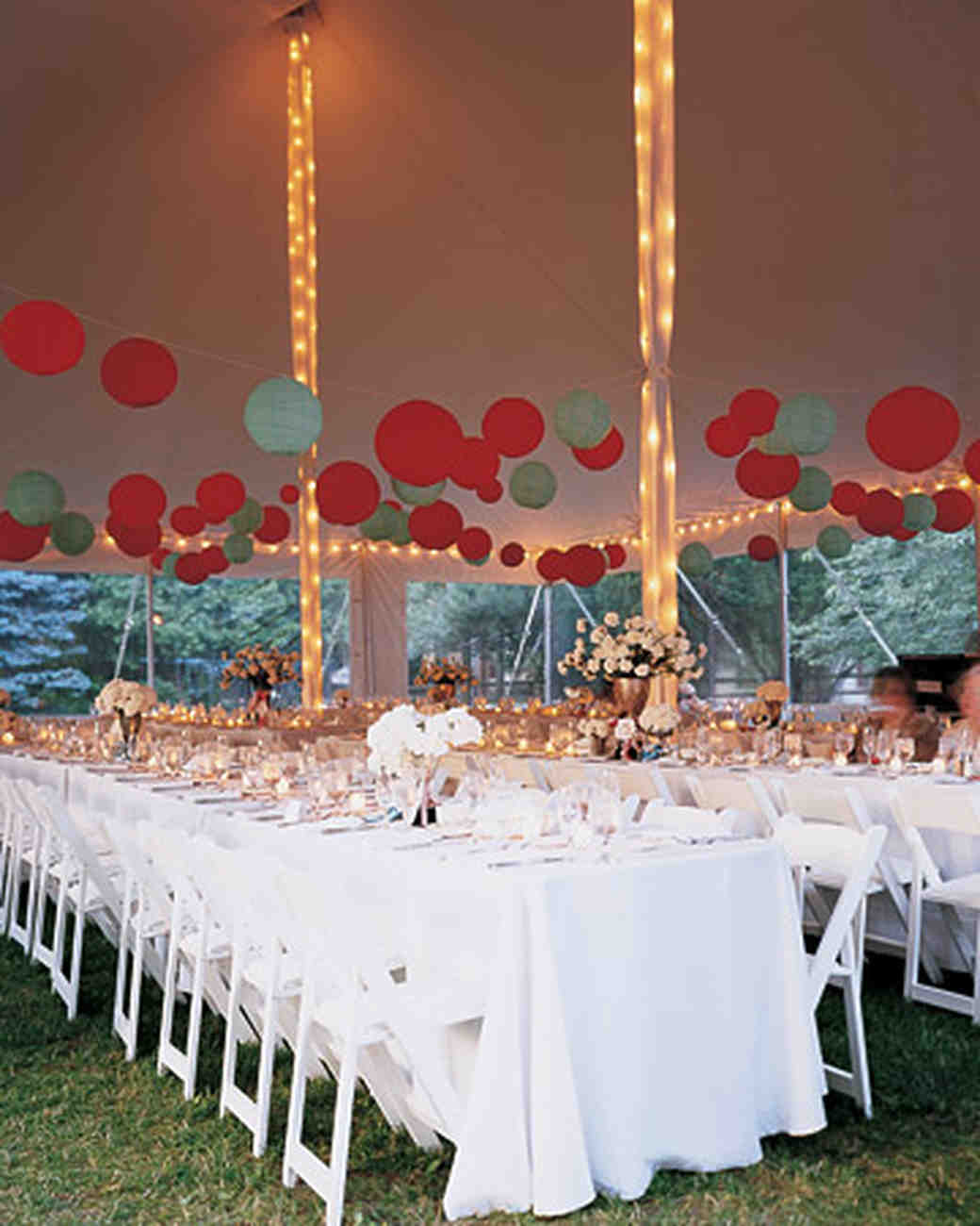 & 47 Hanging Wedding Décor Ideas | Martha Stewart Weddings
