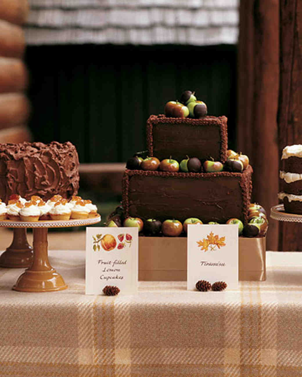 Seasonal Chocolate Dessert Table