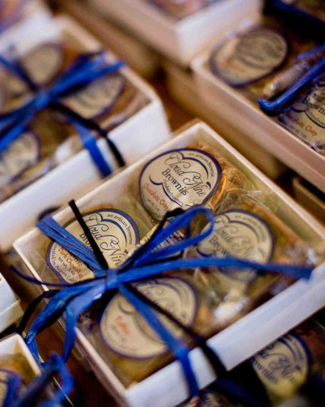 Brownie Wedding Favors